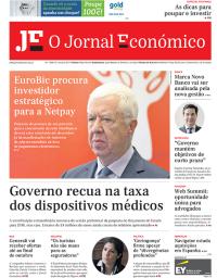 capa Jornal Económico de 28 outubro 2017