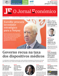 capa Jornal Económico de 30 outubro 2017
