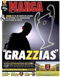 capa Jornal Marca de 1 junho 2018