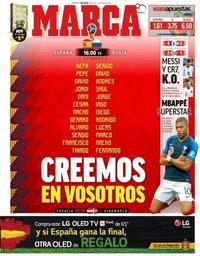capa Jornal Marca de 1 julho 2018