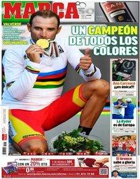 capa Jornal Marca de 1 outubro 2018