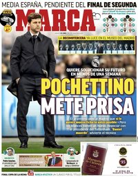 capa Jornal Marca de 2 junho 2018