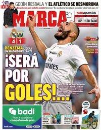 capa Jornal Marca de 2 setembro 2018