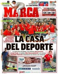 capa Jornal Marca de 2 outubro 2018