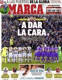 capa Jornal Marca de 3 abril 2018
