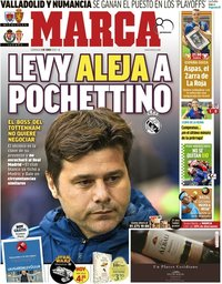 capa Jornal Marca de 3 junho 2018