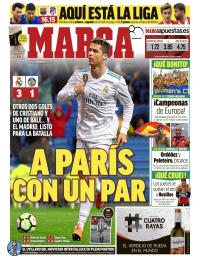 capa Jornal Marca de 4 março 2018