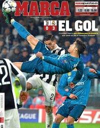 capa Jornal Marca de 4 abril 2018