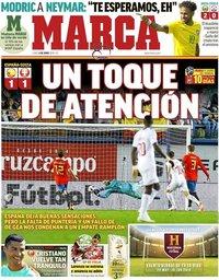 capa Jornal Marca de 4 junho 2018