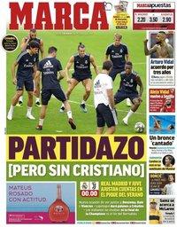 capa Jornal Marca de 4 agosto 2018