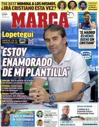 capa Jornal Marca de 4 setembro 2018