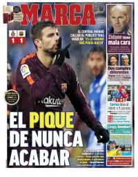 capa Jornal Marca de 5 fevereiro 2018
