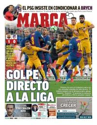 capa Jornal Marca de 5 março 2018