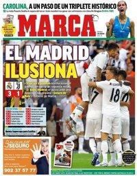 capa Jornal Marca de 5 agosto 2018