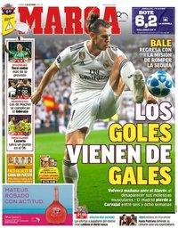 capa Jornal Marca de 5 outubro 2018
