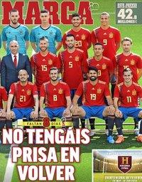 capa Jornal Marca de 6 junho 2018