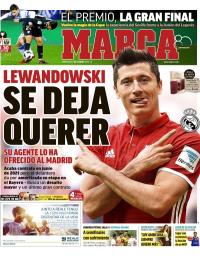 capa Jornal Marca de 7 fevereiro 2018