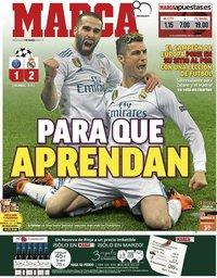 capa Jornal Marca de 7 março 2018