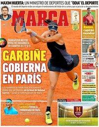 capa Jornal Marca de 7 junho 2018