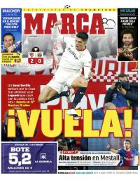 capa Jornal Marca de 8 fevereiro 2018