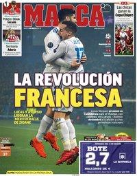 capa Jornal Marca de 8 março 2018