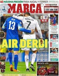 capa Jornal Marca de 8 abril 2018