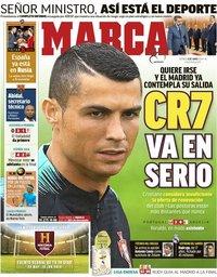 capa Jornal Marca de 8 junho 2018