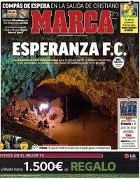 capa Jornal Marca de 8 julho 2018