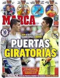 capa Jornal Marca de 8 agosto 2018