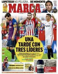 capa Jornal Marca de 8 outubro 2018