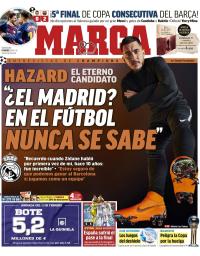capa Jornal Marca de 9 fevereiro 2018