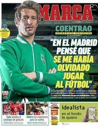 capa Jornal Marca de 9 março 2018