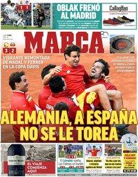 capa Jornal Marca de 9 abril 2018