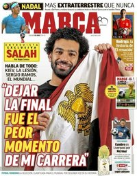 capa Jornal Marca de 9 junho 2018