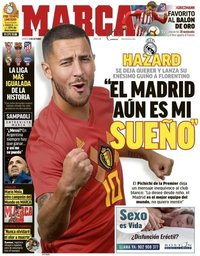 capa Jornal Marca de 9 outubro 2018