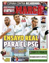 capa Jornal Marca de 10 fevereiro 2018