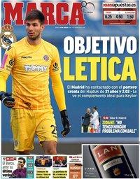 capa Jornal Marca de 10 março 2018