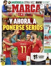 capa Jornal Marca de 10 junho 2018