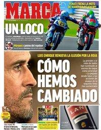capa Jornal Marca de 10 setembro 2018