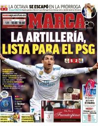 capa Jornal Marca de 11 fevereiro 2018