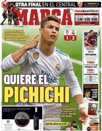 capa Jornal Marca de 11 março 2018