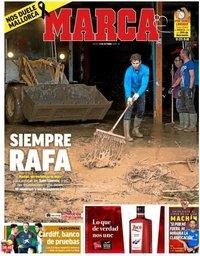 capa Jornal Marca de 11 outubro 2018