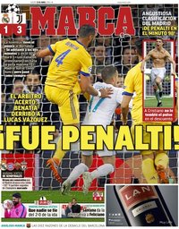 capa Jornal Marca de 12 abril 2018
