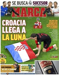 capa Jornal Marca de 12 julho 2018