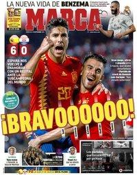 capa Jornal Marca de 12 setembro 2018