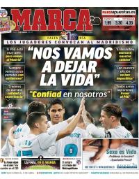 capa Jornal Marca de 13 fevereiro 2018