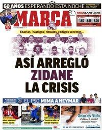 capa Jornal Marca de 13 março 2018