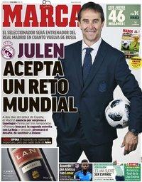 capa Jornal Marca de 13 junho 2018