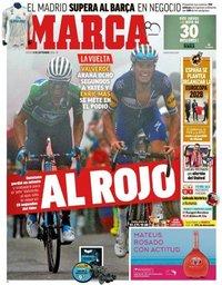 capa Jornal Marca de 13 setembro 2018