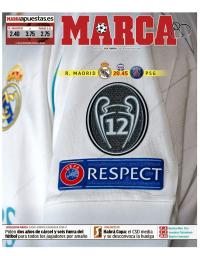 capa Jornal Marca de 14 fevereiro 2018